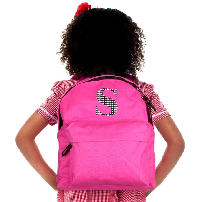 6b0f7566ea Personalised Star Initial Backpack in Blue or Pink